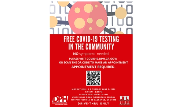 Free COVID-19 testing available Monday and Tuesday ...